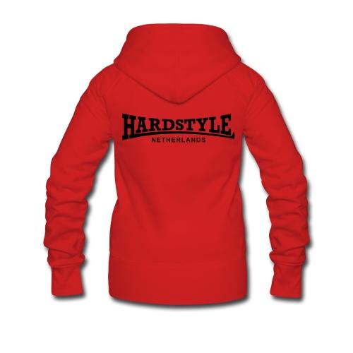Hardstyle Netherlands - Black - Women's Premium Hooded Jacket