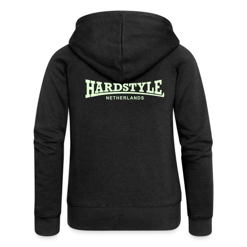 Hardstyle Netherlands - Glow in the dark - Women's Premium Hooded Jacket