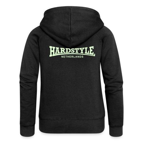 Hardstyle Netherlands - Glow in the dark - Women's Premium Hooded Jacket