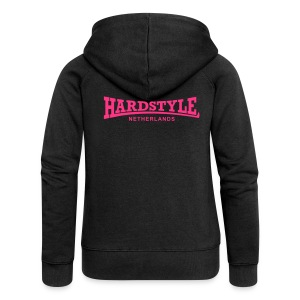 Hardstyle Netherlands - Neonpink - Women's Premium Hooded Jacket