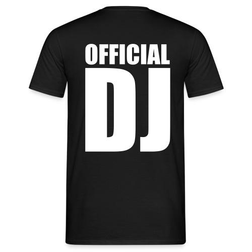Official DJ - Miesten t-paita