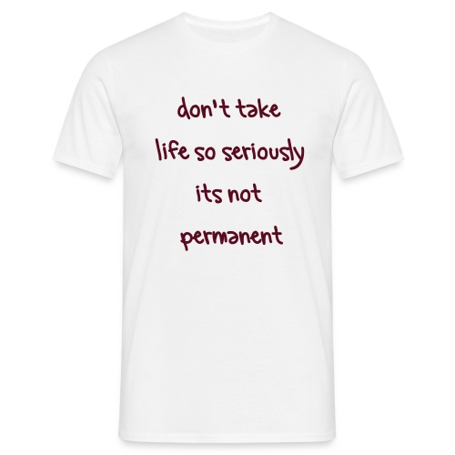Enjoy life - Men's T-Shirt
