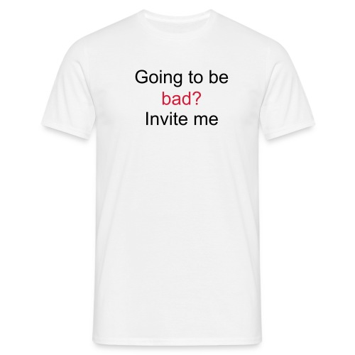 Flirty request - Men's T-Shirt