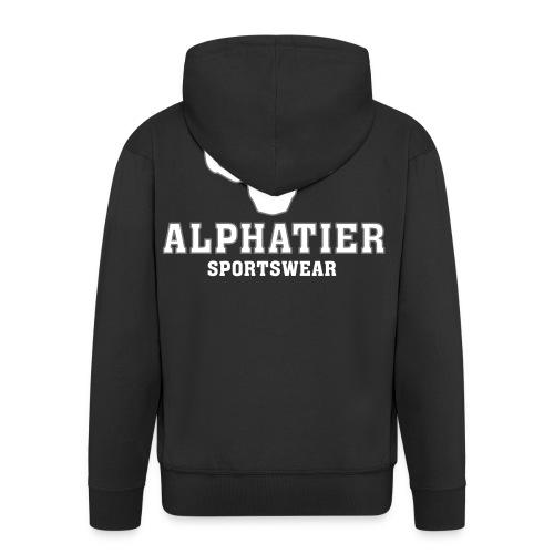 ALPHATIER Sportswear Kapuzenpulli - Männer Premium Kapuzenjacke