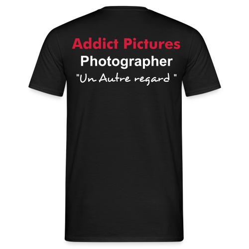 T-shirt Addict Pictures PHOTOGRAPHER Homme - T-shirt Homme