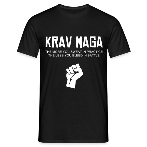 Krav Maga Black T - Men's T-Shirt