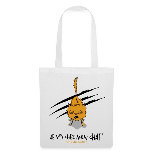 Je vis chez mon chat... - Tote Bag