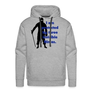 Invisible Ninja - Men's Premium Hoodie
