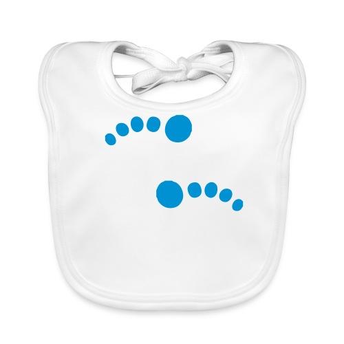Footprint Bib - Baby Organic Bib
