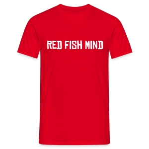 Red Fish Mind - Men's T-Shirt