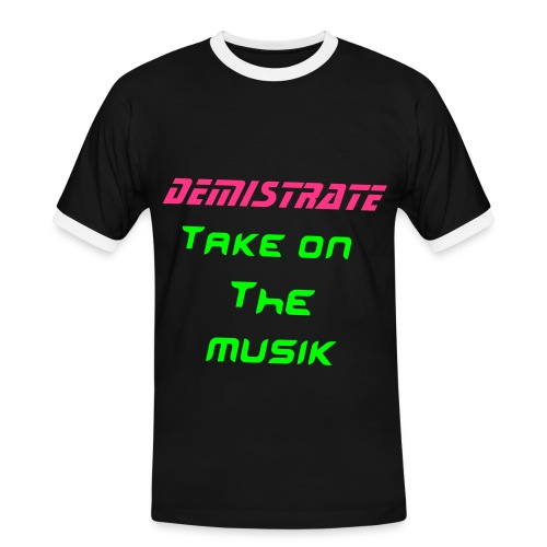 Demistrate Raver - Men's Ringer Shirt