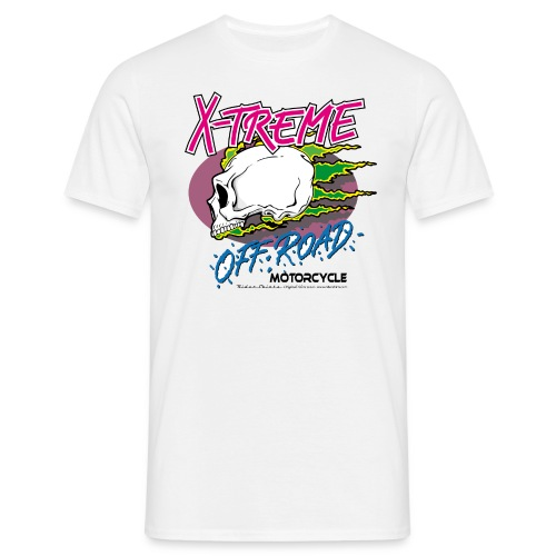x-treme offroad| T-shirts motocross - T-shirt Homme