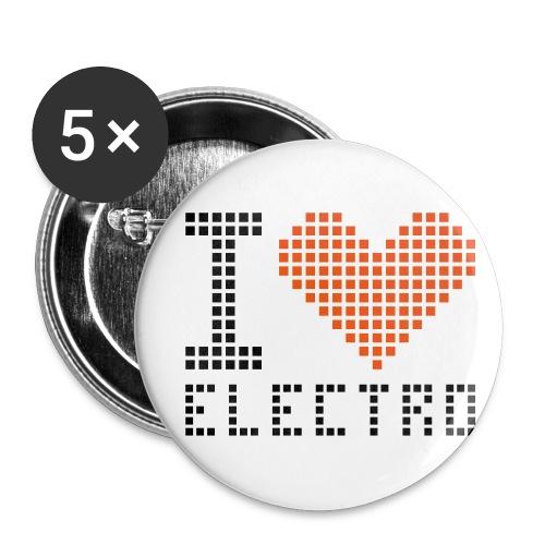 i heart electro - Buttons medium 32 mm