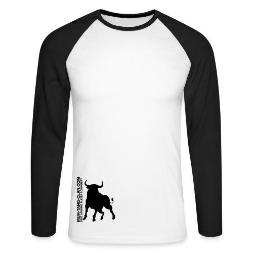 Muh-Union-Shirt - Männer Baseballshirt langarm