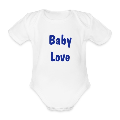 Baby Love One Piece - Organic Short-sleeved Baby Bodysuit