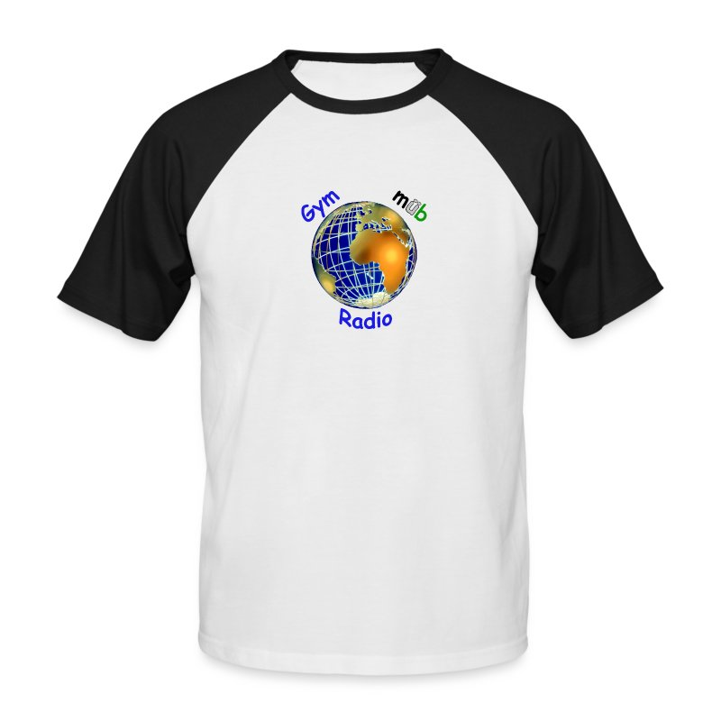 GymMübRadio Shirt Ärmel - Männer Baseball-T-Shirt