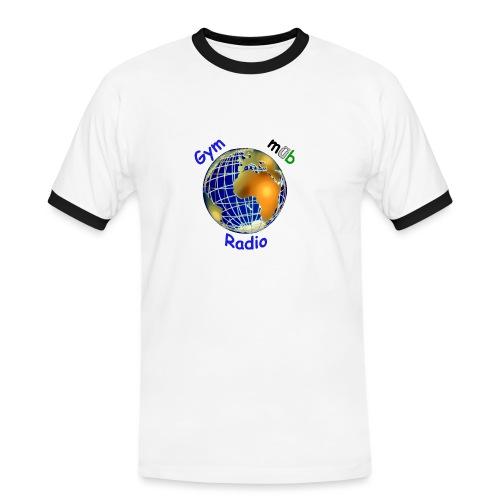 GymMübRadio Shirt Bund - Männer Kontrast-T-Shirt