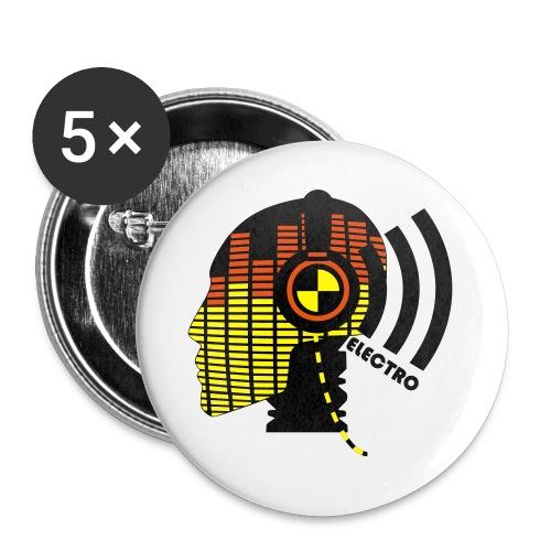 CHAPAS ELECTRO-TECNO - Paquete de 5 chapas medianas (32 mm)