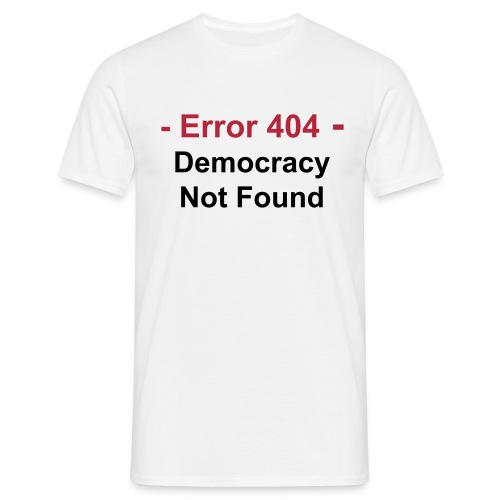 404 Error - T-shirt Homme