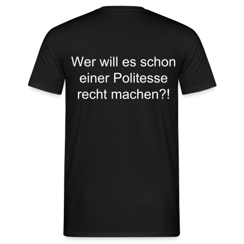Nobody is perfect!!! - Männer T-Shirt