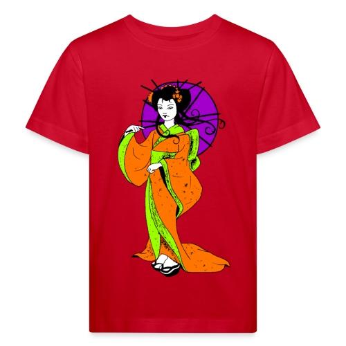 T shirt enfant geisha - T-shirt bio Enfant