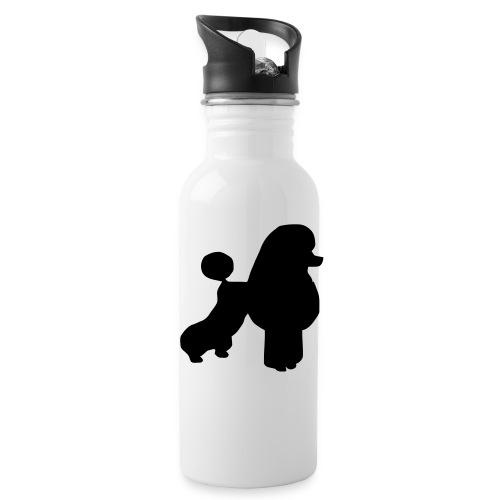 Vattenflaska med pudelmotiv - Vattenflaska