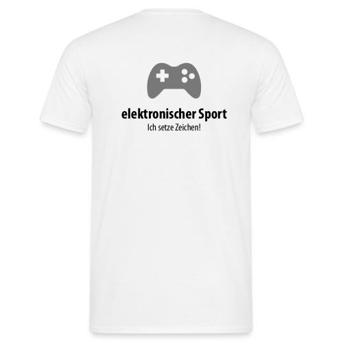 eSport - Zeichen setzen! - Männer T-Shirt