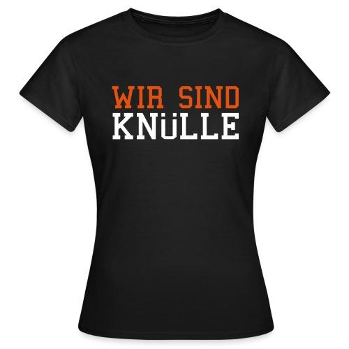Motto-Shirt Schwarz - Frauen T-Shirt