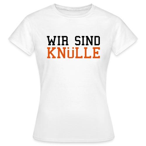 Motto-Shirt Weiß - Frauen T-Shirt