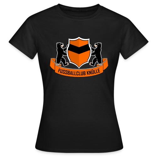 Logo-Shirt Schwarz - Frauen T-Shirt