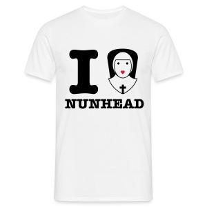 I Love Nunhead Male - Men's T-Shirt
