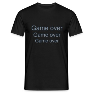 Game over. - T-shirt Homme