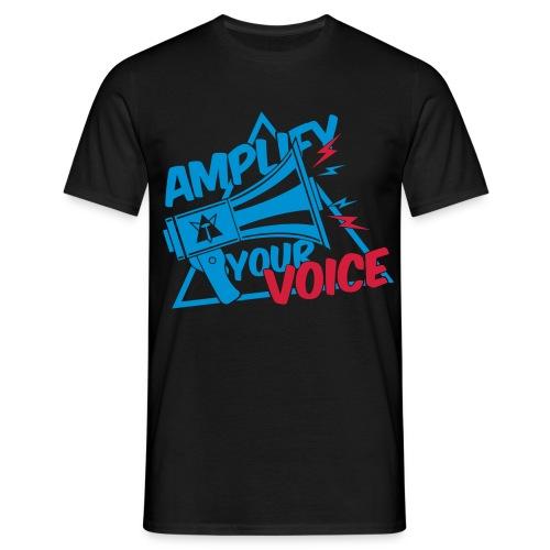 T-shirt homme BoomVoice Bleu&Rouge - T-shirt Homme