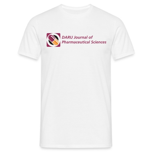 men's t-shirt DARU Journal of Pharmaceutical Sciences - Men's T-Shirt