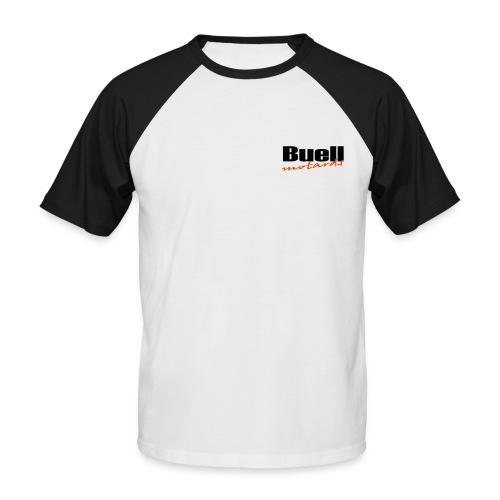 Camiseta Baseball (pecho y espalda) - Camiseta béisbol manga corta hombre