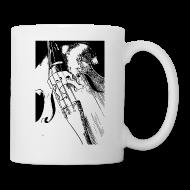 Bouteilles et Tasses ~ Tasse ~ Mug contrebasse 2