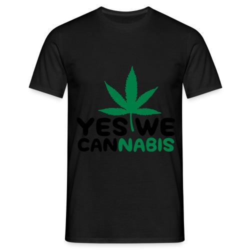 Weed T-Shirt voor mannen! - Mannen T-shirt