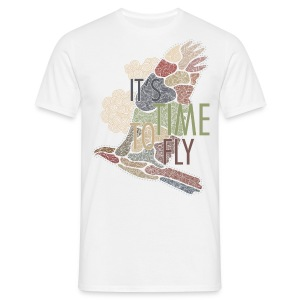 It's Time to Fly... - Männer T-Shirt