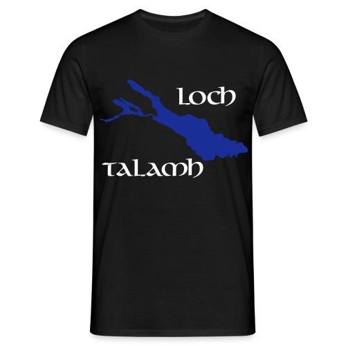 Loch Talamh invers - Männer T-Shirt