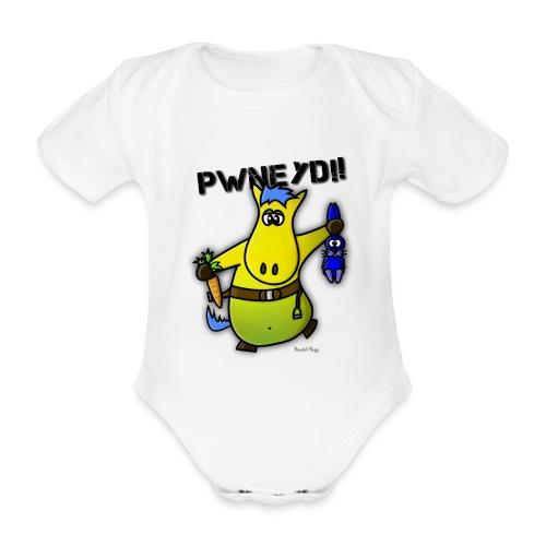Seshanba le Poney pour Bébé - Body bébé bio manches courtes