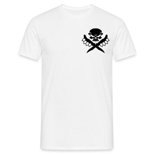 T-Shirt Kali Knife Fighter for Man in weiß - Männer T-Shirt