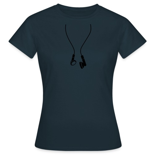 T SHIRT con cuffie donna - Maglietta da donna