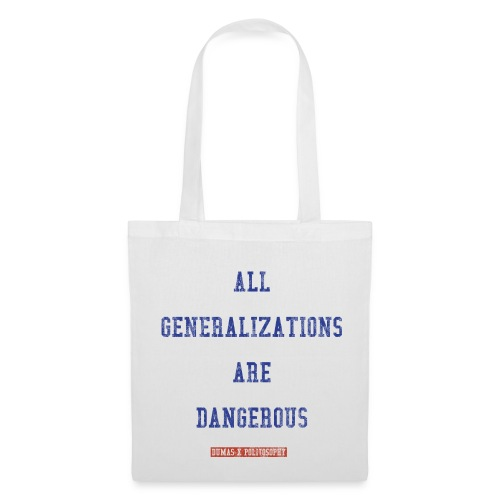 ALL GENERALIZATIONS - bag - Tote Bag