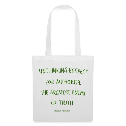 UNTHINKING RESPECT - bag - Tote Bag