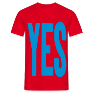 T-Shirts ~ Men's T-Shirt ~ YES T-shirt