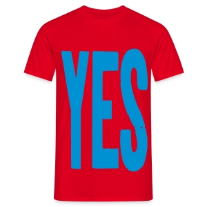 YES T-shirt - Men's T-Shirt