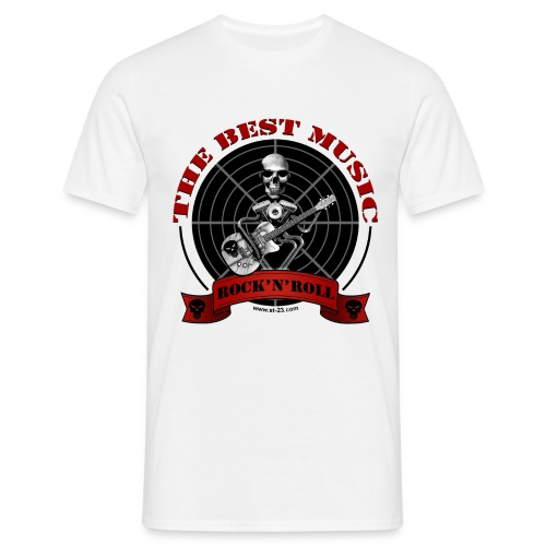 Rock and Roll - Camiseta hombre