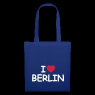 Taschen & Rucksäcke ~ Stoffbeutel ~ I love Berlin-Tragetasche