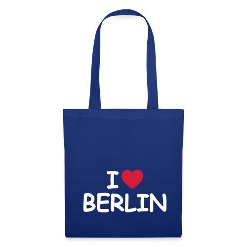 I love Berlin-Tragetasche - Stoffbeutel