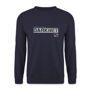 Darknet - Label Sweat Shirt / Navy - Men's Sweatshirt